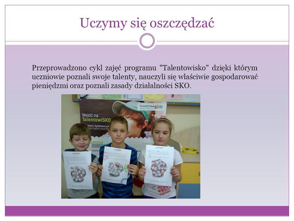 """Program """"Od grosika do złotówki W poszerzaniu wiedzy finansowej pomaga dzieciom realizacja programu Od grosika do złotówki ."""