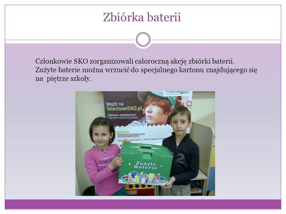 Pomagamy innym Członkowie SKO bardzo chętnie pomagają innym włączając się do wszystkich akcji szkolnego wolontariatu.