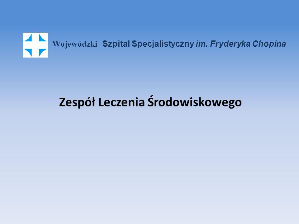 Od lutego 2012 roku w Wojewódzkim Szpitalu Specjalistycznym im.