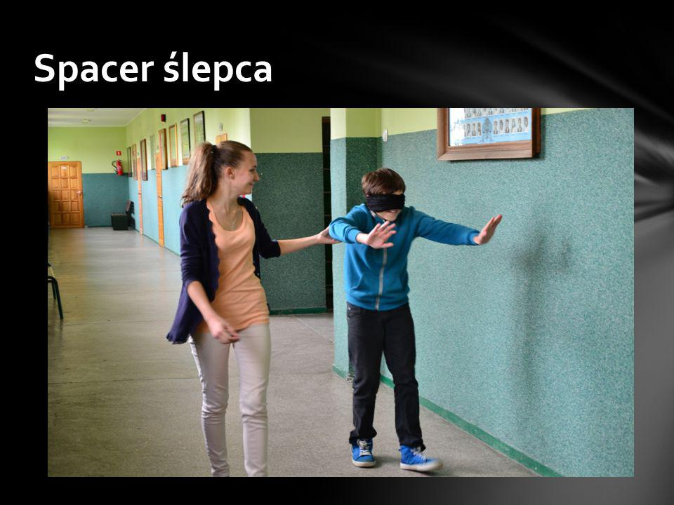 Spacer ślepca