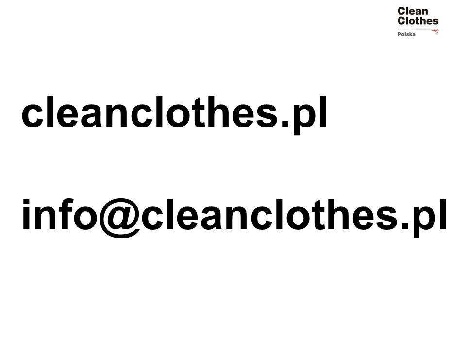 cleanclothes.pl info@cleanclothes.pl