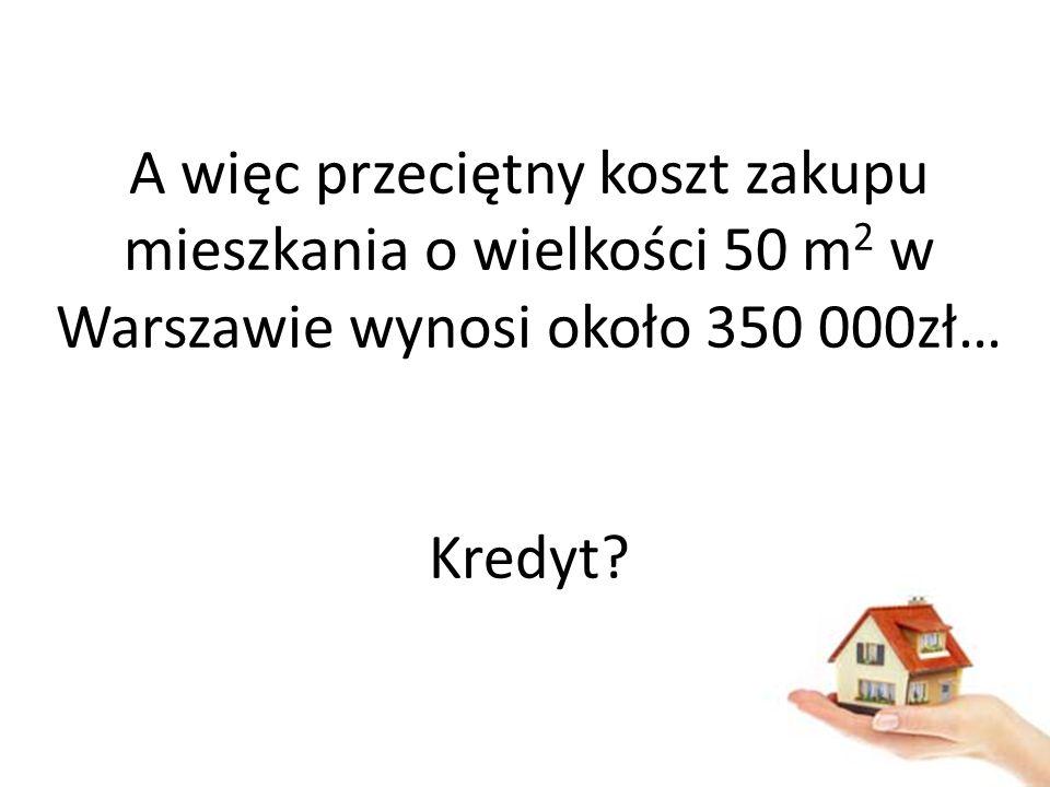 Pożyczka hipoteczna WALUTAPLN OPROCENTOWANIE6,07 % ( WIBOR + marża 3,55%) WYSOKOŚĆ KREDYTUOd 40 000 PLN, do 80% wartości nieruchomości.