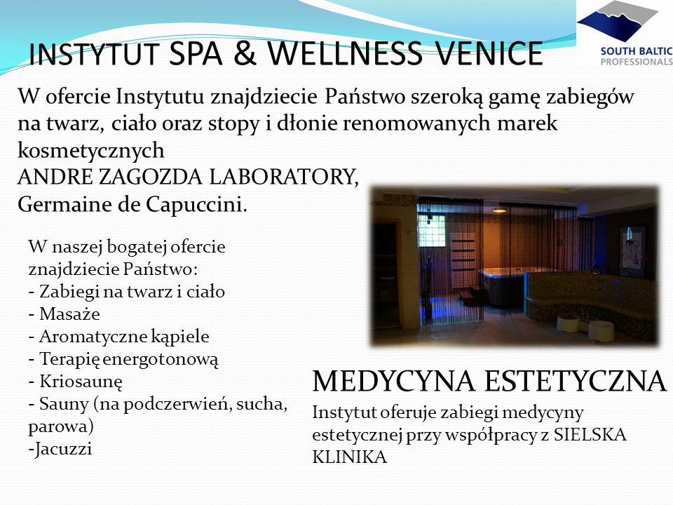 W naszej bogatej ofercie znajdziecie Państwo: - Zabiegi na twarz i ciało - Masaże - Aromatyczne kąpiele - Terapię energotonową - Kriosaunę - Sauny (na