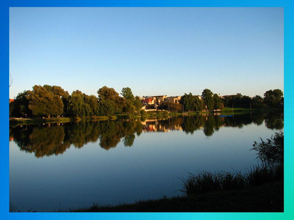 Gniezno-miasto leżące na Pojezierzu Gnieźnieńskim wśród jezior Jelonek, Świętokrzyskie i Winiary, na terenie dawnego jeziora plioceńskiego.