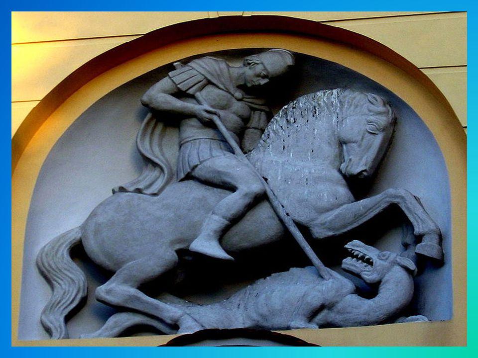 Kościół Św.Jerzego-(jednonawowy) powstały z ciosu prawdopodobnie w X wieku.