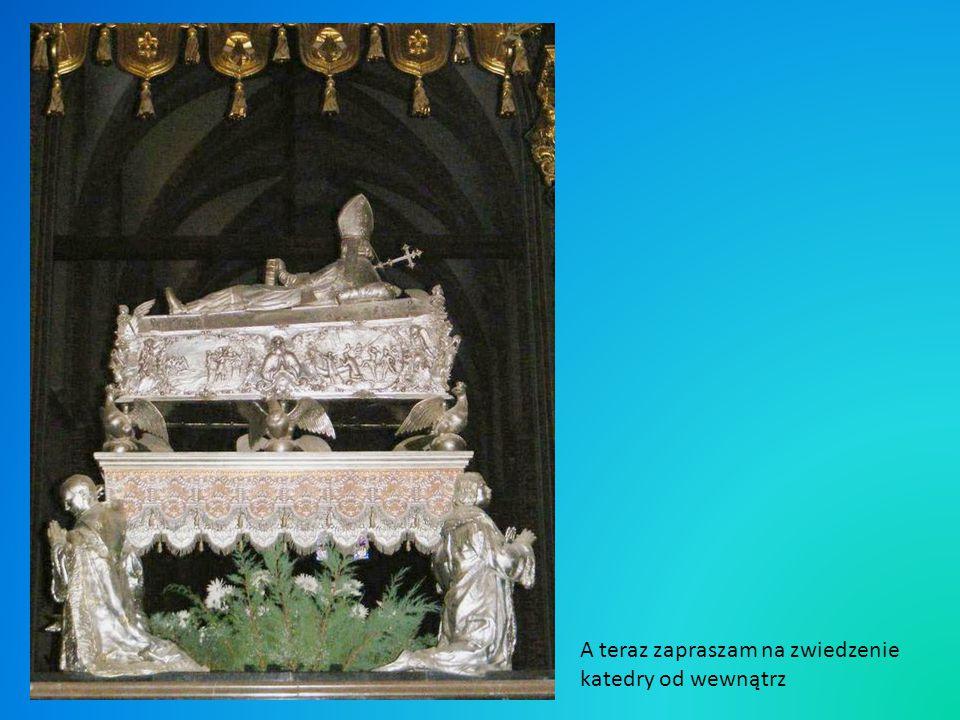 Najstarszą częścią budowli jest prezbiterium z relikwiami Św.