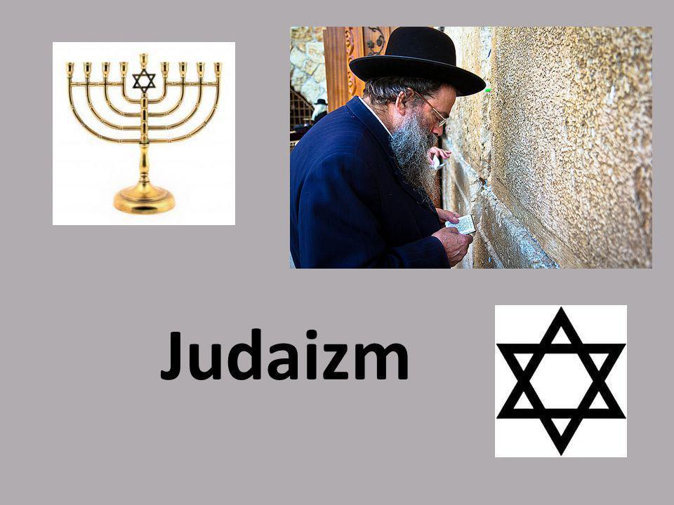 Czym jest judaizm.Judaizm, to najstarsza monoteistyczna religia.