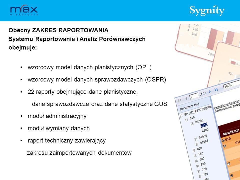 Dalszy ROZWÓJ Systemu Raportowania i Analiz Porównawczych