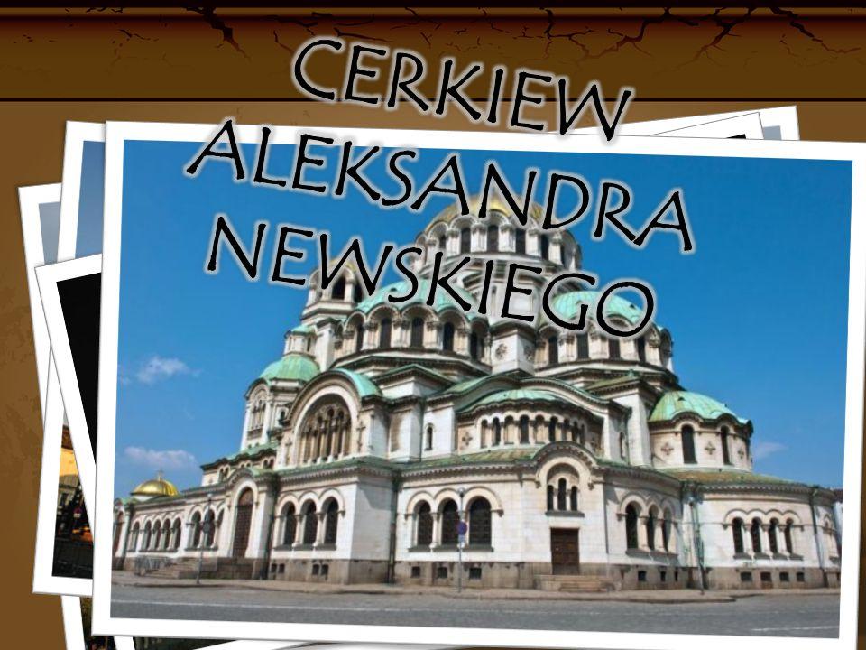 Cerkiew Aleksandra Newskiego Jest to budowla sakralna wzniesiona w przeciągu lat 1904-1912.
