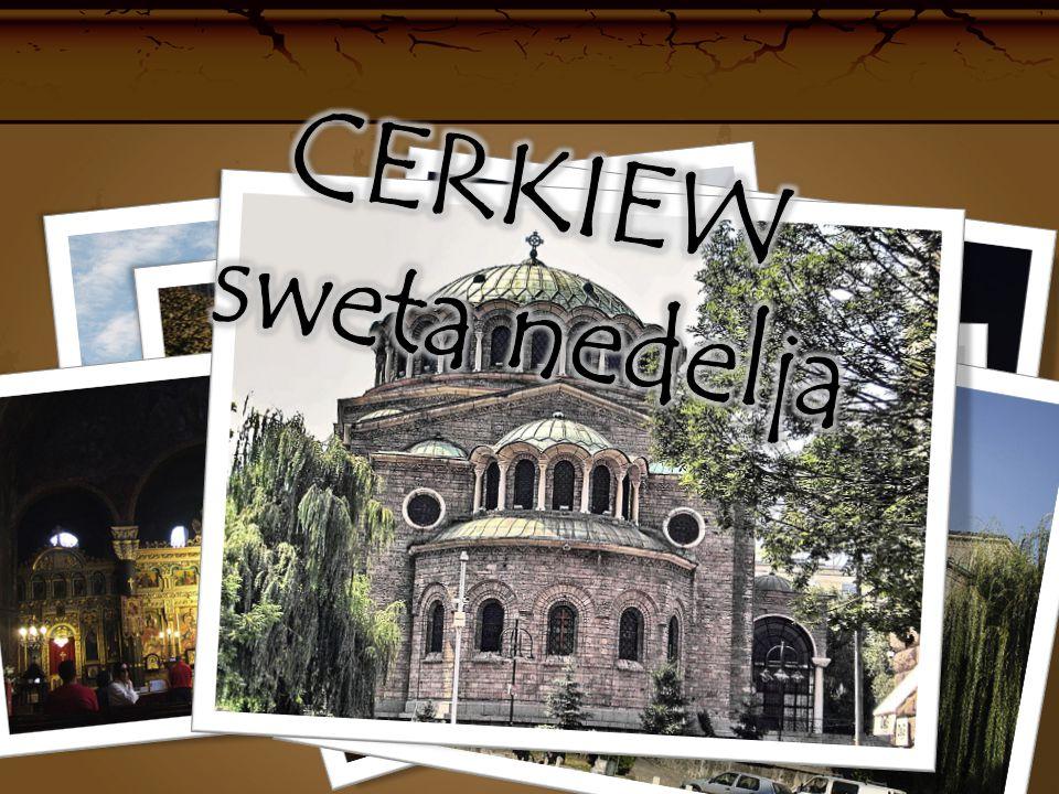 Cerkiew SWETA NEDELJA Budowla ta jest obecnie katedrą biskupią w Sofii.