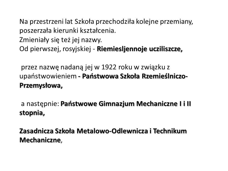 1996 Oddanie stacji diagnostycznej przy ulicy Legionów Polskich.