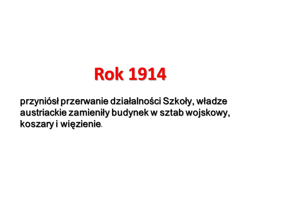 W tym roku miał miejsce strajk młodzieży, w którym domagano się między innymi wprowadzenia nauczania w języku polskim W tym roku miał miejsce strajk młodzieży, w którym domagano się między innymi wprowadzenia nauczania w języku polskim.