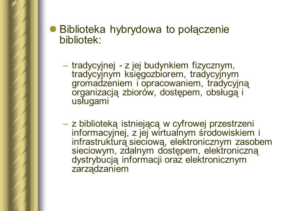 EQUINOX Odsetek osób korzystających z elektronicznych usług bibliotecznych Odsetek zapytań informacyjnych przekazywanych elektronicznie Liczba bibliotecznych stanowisk komputerowych Odsetek całościowych wydatków przeznaczanych na elektroniczne usługi biblioteczne Liczba pracowników związanych z elektronicznymi usługami bibliotecznymi