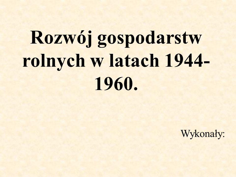 Kolektywizacja W 1948r.