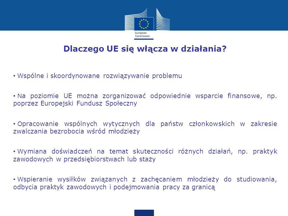 Dlaczego UE się włącza w działania.