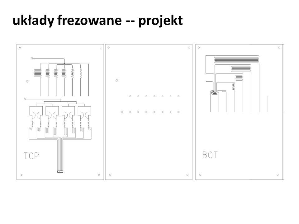 układy frezowane -- projekt