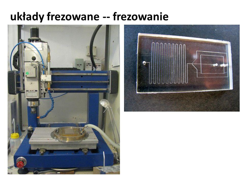 układy frezowane -- frezowanie