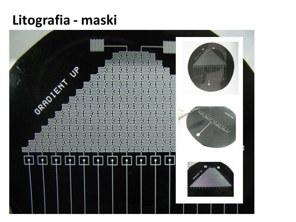 Litografia - maski