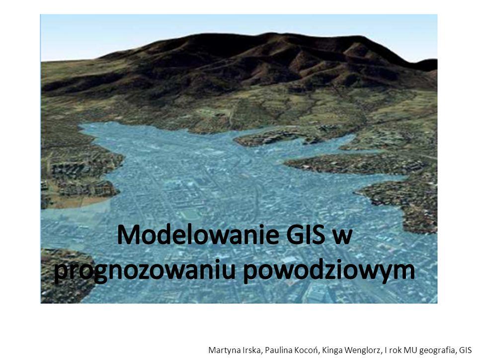 Martyna Irska, Paulina Kocoń, Kinga Wenglorz, I rok MU geografia, GIS