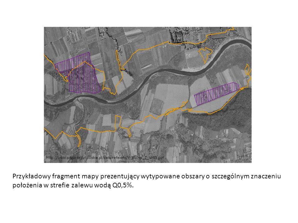 http://www.pogorzedynowskie.pl/data/referaty/VIIBS/ref_7_VIIBS.pdf Przykładowy fragment mapy prezentujący wytypowane obszary o szczególnym znaczeniu p