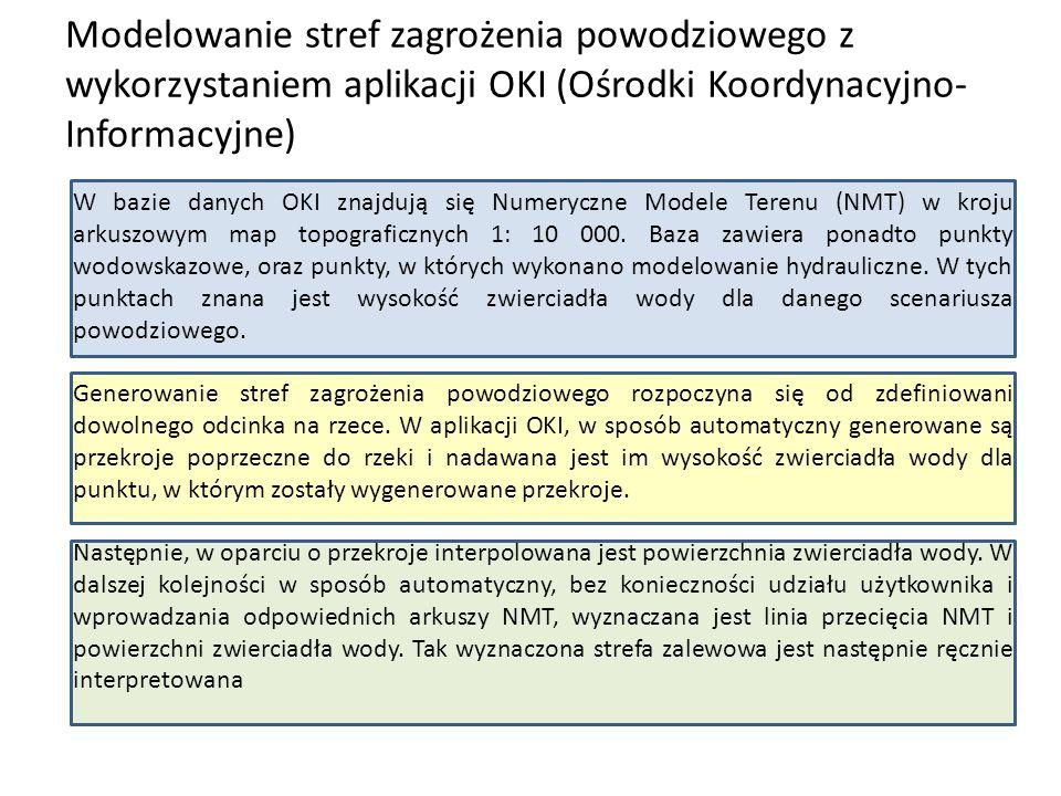 Przykładowe mapy oraz wyniki modelowania 2D http://oki.krakow.rzgw.gov.pl/Content/wwwdd/KimJestesmyPDF/hydrotechnika_2012/streszczenie.pdf Mapa zagrożenia powodziowego – głębokości
