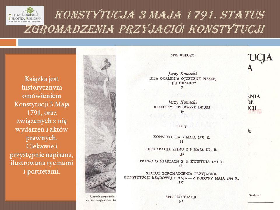 Konstytucja 3 Maja 1791.