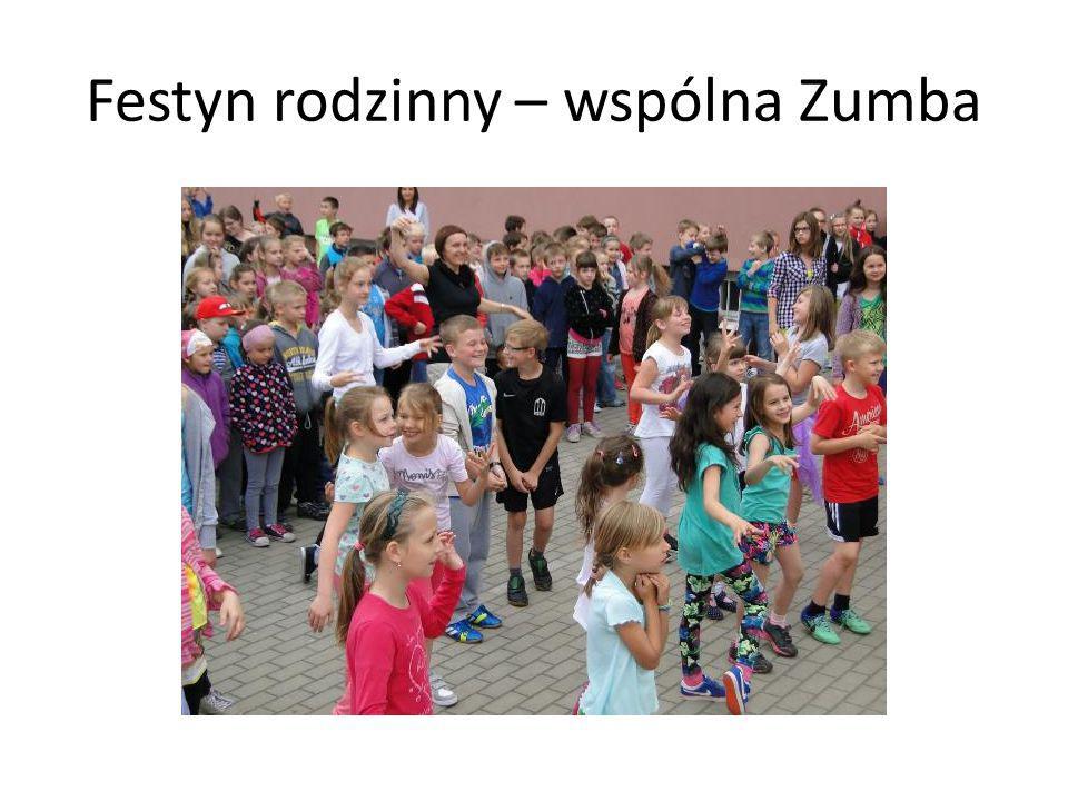 Festyn rodzinny – wspólna Zumba