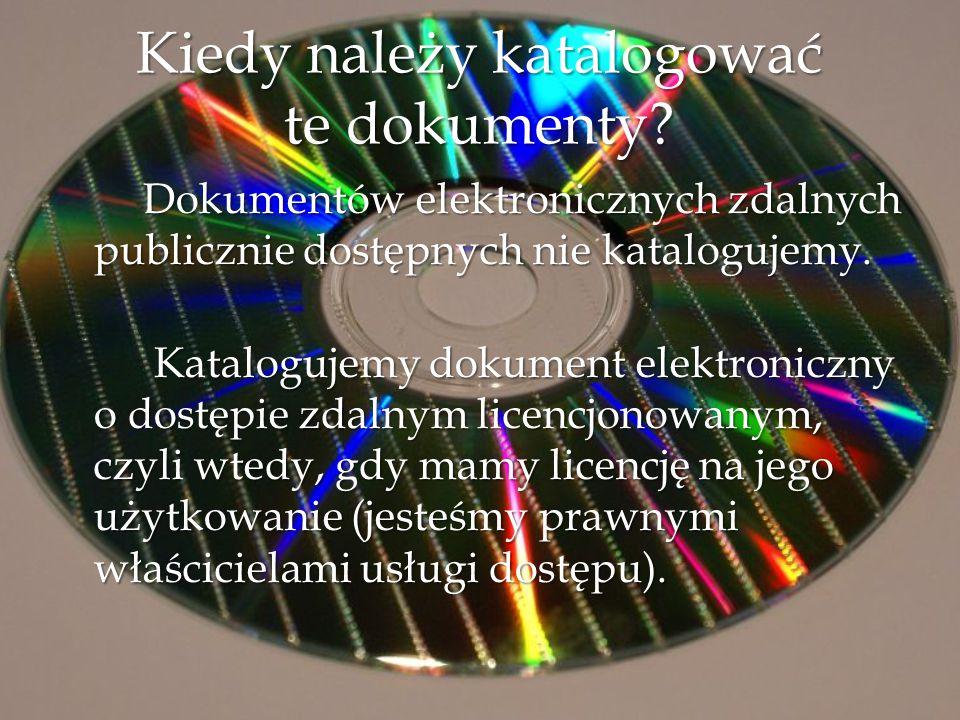 Jeżeli tytuł wyrażony jest w wielu językach, za tytuł właściwy należy przyjąć tytuł w języku całego dokumentu.