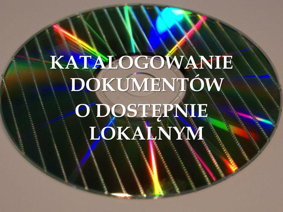 Przykłady:.- 1 dysk optyczny (CD) : kolor ; 12 cm.