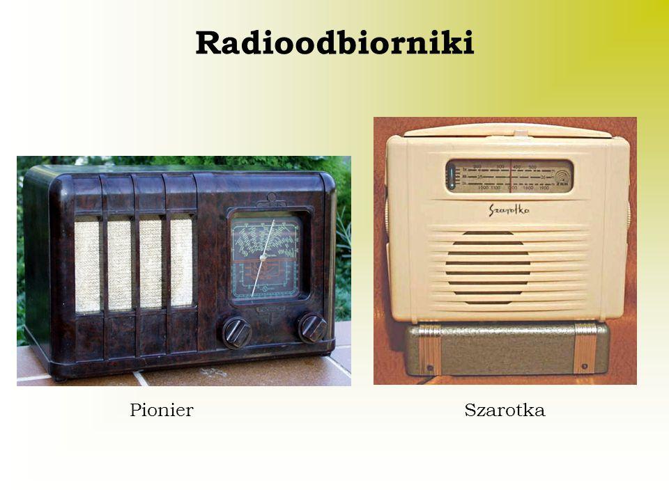 Radioodbiorniki PionierSzarotka
