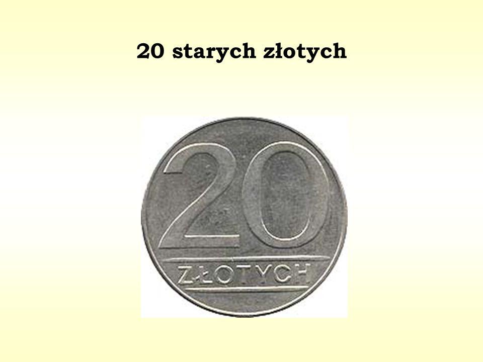 20 starych złotych
