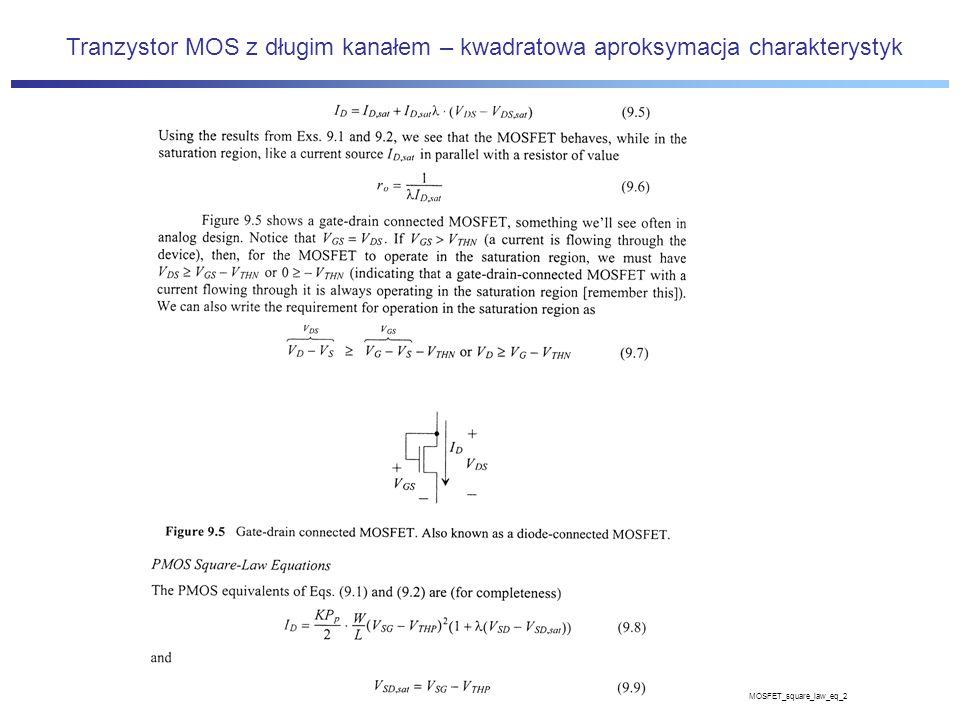 MOSFET_square_law_eq_2 Tranzystor MOS z długim kanałem – kwadratowa aproksymacja charakterystyk