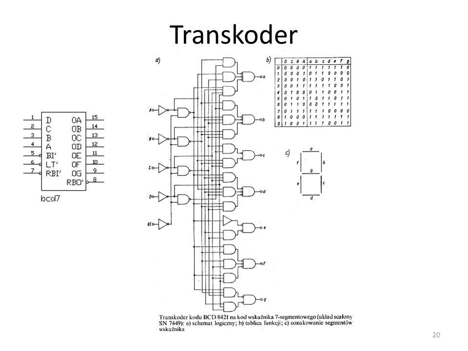 Transkoder 20