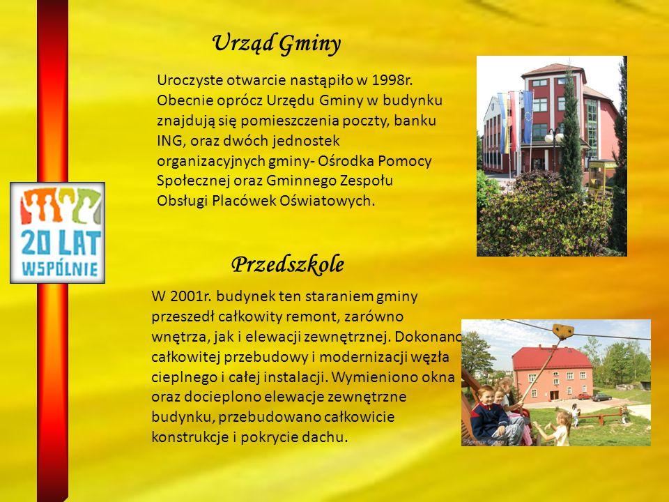 GIMNAZJUM Jedną z największych inwestycji Marklowic była budowa nowego Gimnazjum 2001-2004.