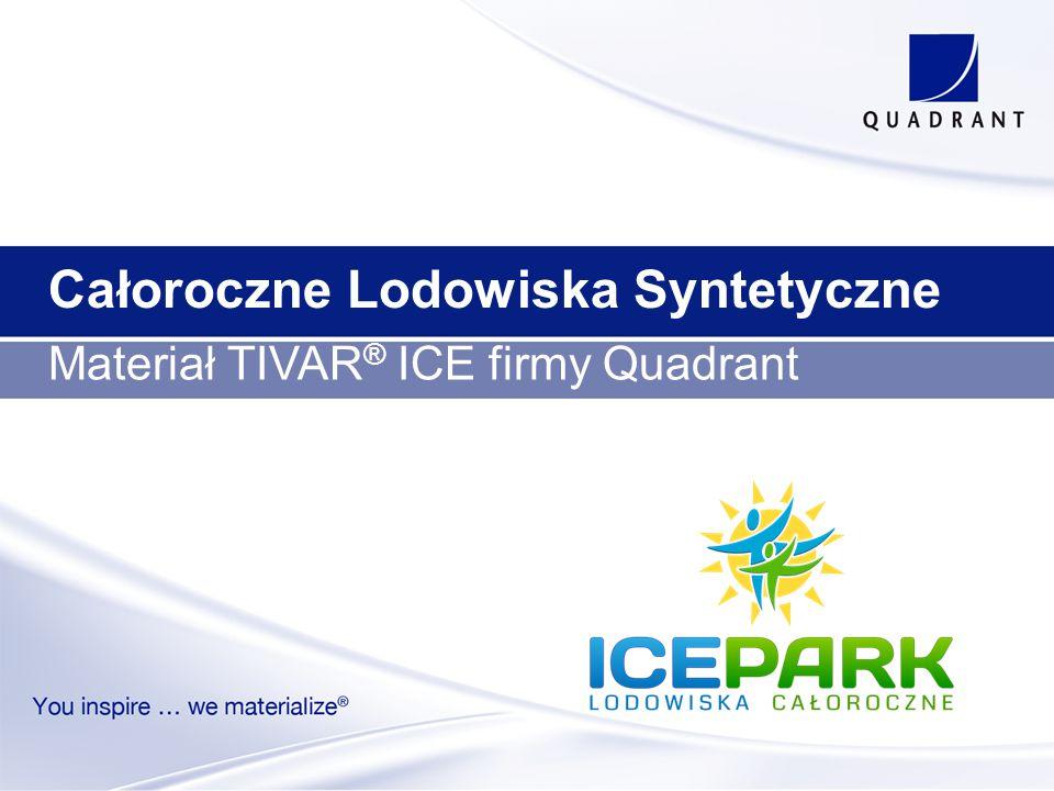 Całoroczne Lodowiska Syntetyczne Materiał TIVAR ® ICE firmy Quadrant
