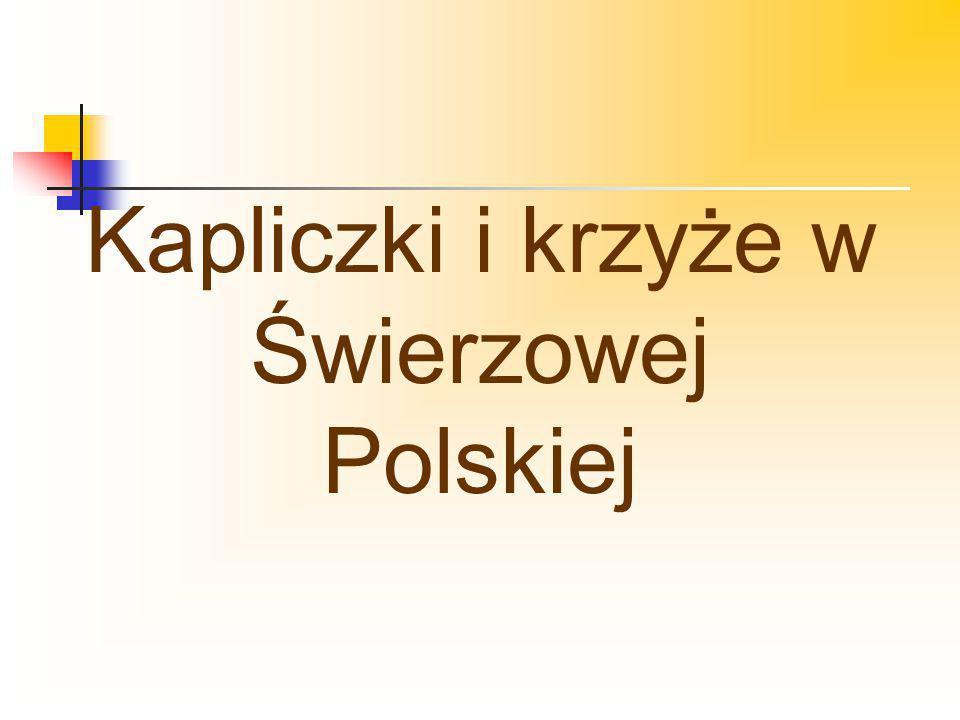 Kapliczki i krzyże w Świerzowej Polskiej