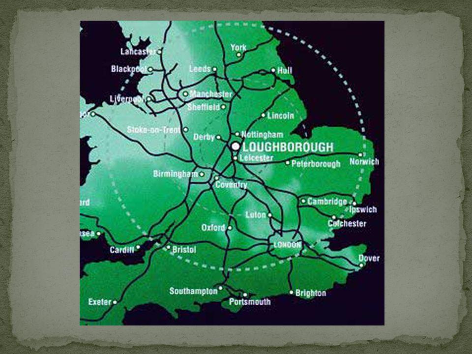 Jest to zaraz po Leicester największe miasto w hrabstwie oraz siedziba bardzo ważnego ośrodka akademickiego