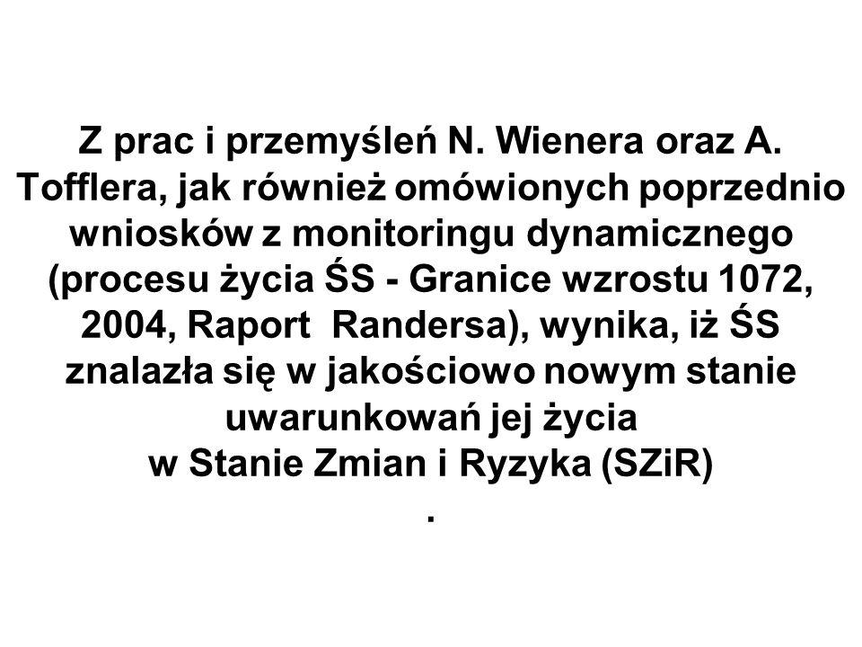 Z prac i przemyśleń N. Wienera oraz A.