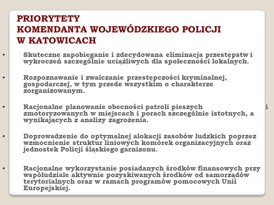 Skuteczne zapobieganie i zdecydowana eliminacja przestępstw i wykroczeń szczególnie uciążliwych dla społeczności lokalnych.