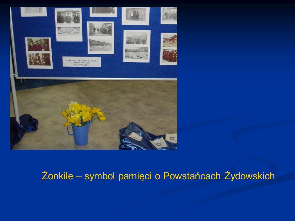 Żonkile – symbol pamięci o Powstańcach Żydowskich