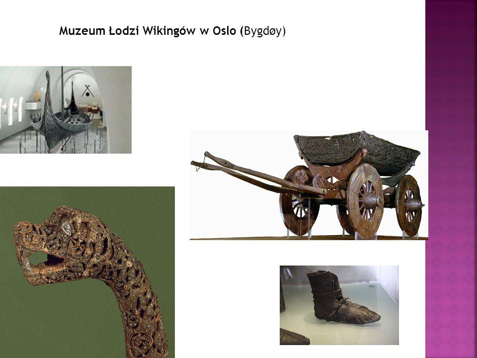Muzeum Łodzi Wikingów w Oslo (Bygdøy)