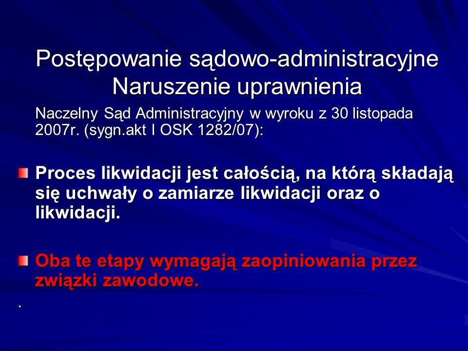 Postępowanie sądowo-administracyjne Naruszenie uprawnienia Postępowanie sądowo-administracyjne Naruszenie uprawnienia Naczelny Sąd Administracyjny w w