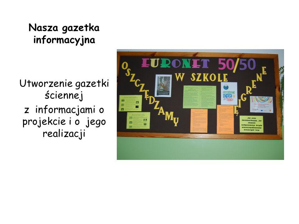 Nagrodzone prace w konkursie literackim Oszczędzanie Paulina Szpyt kl V Wodę, światło oszczędzajmy, ziemi życie przedłużajmy.