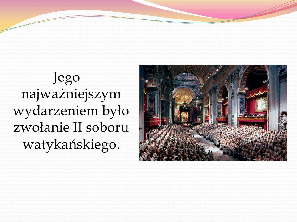 Był pierwszym papieżem od 1870 r., który odbył oficjalne spotkania poza Watykanem.