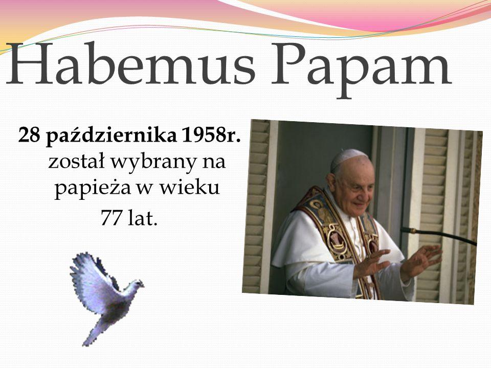 """Herb papieski Jego zawołanie papieskie brzmiało: Obedientia et pax """"Posłuszeństwo i pokój"""