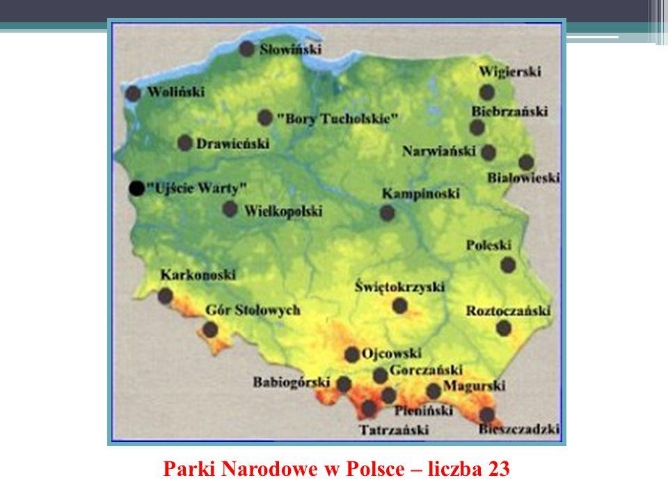 Parki Narodowe w Polsce – liczba 23