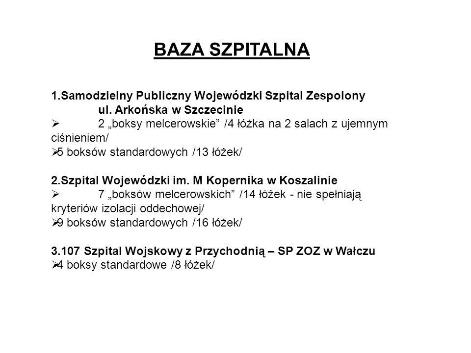 BAZA SZPITALNA 1.Samodzielny Publiczny Wojewódzki Szpital Zespolony ul.
