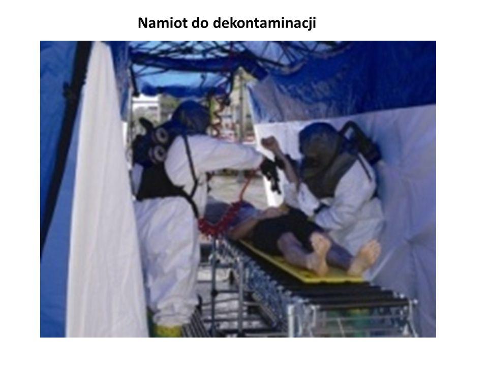 Namiot do dekontaminacji