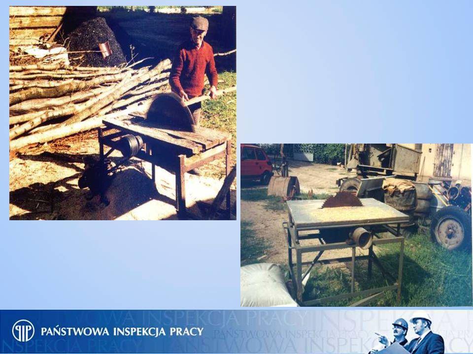 Prawidłowe zabezpieczenia i osłony przerzynarki do drewna