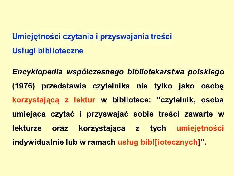 UŻYTKOWNIK W SYSTEMIE KOMPUTEROWYM (1999-) pojęcia w encyklopediach, słownikach i podręcznikach Tabela 4